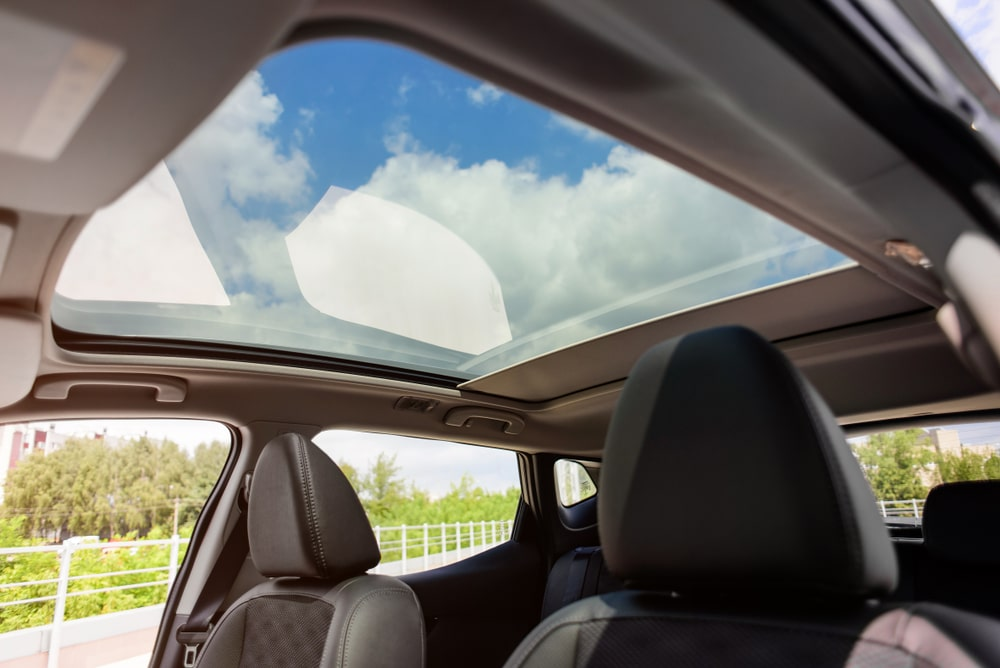 What factors can damage your car's sunroof