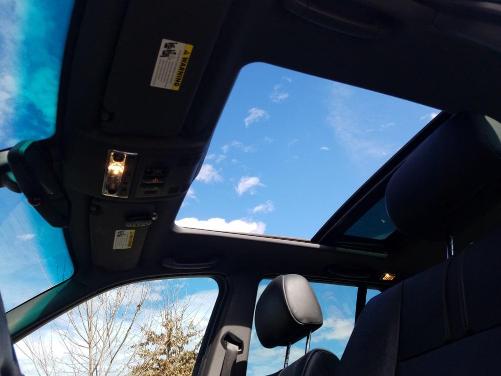Sunroof Car